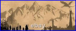 Lord Of The Rings Middle Earth Fantasy Movie Poster / Canvas Picture Prints