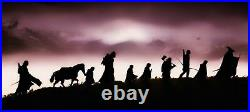 Lord Of The Rings Middle Earth Mountain Large Poster / Canvas Picture Print