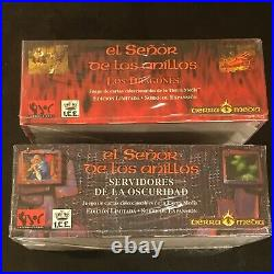 Lord Of The Rings Sealed Middle Earth The Dragons & Dark Minions Booster Booxes