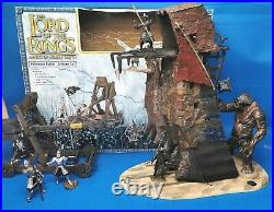Lord of The Rings Armies of Middle Earth Pelennor Fields Deluxe set Siege Tower