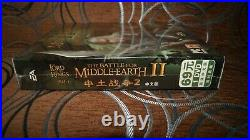 Lord of The Rings Battle for Middle-Earth II Chinese Big Box Edition PC SEALED