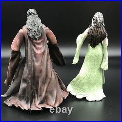 Lord of the Rings 6 Elves of Middle Earth 7 Figure Delux Set LOTR ToyBiz 2005