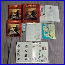 Lord of the Rings Adventure Game Middle Earth Board Game Vtg I. C. E. READ DESCRIP
