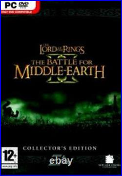 Lord of the Rings Battle for Middle Earth II Collectors Edition PC NEW Sealed