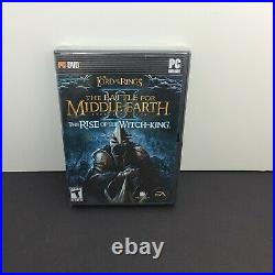 Lord of the Rings Battle for Middle-earth II 2 Rise of Witch King Pc New Sealed