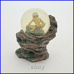 Lord of the Rings Gollum Cliffside Middle Earth Snow Globe Water Globe Figure