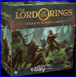 Lord of the Rings Journeys in Middle Earth Board Game Fantasy Flight Games
