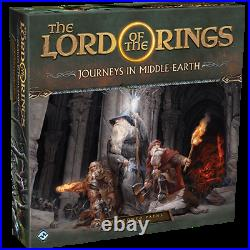Lord of the Rings Journeys in Middle Earth Shadowed Paths Expansion Board Game