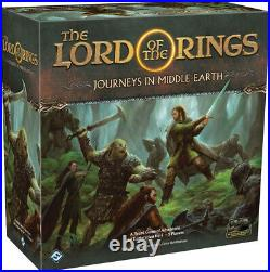Lord of the Rings Journeys in Middle-earth Board Game Sealed New NIB FFG JME01
