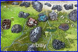 Lord of the Rings LOTR Hobbit Tolkien's Middle Earth Map Puzzle (1390 Piece)