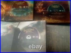 Lord of the Rings Middle-Earth 6-Film Limited Collector's Edition Blu-ray & DVD