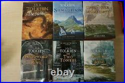 Lord of the Rings Silmariilion Complete Guide to Middle Earth Signed 1st Box Set