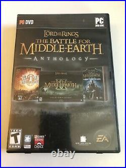 Lord of the Rings The Battle for Middle-earth Anthology All Keys, No Witch Disc