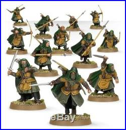 Lord of the rings games workshop Rangers of Middle-earth 12 great pro painted