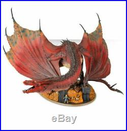 Lord of the rings warhammer middle earth hobbit Smaug model kit miniature 31/5£1