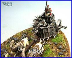 Lord of the rings warhammer painted hobbit middle earth Iron Hills Chariot A10