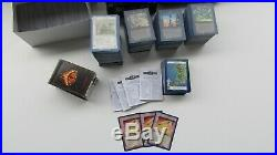 Lot 2128 cards middle earth wizards unlimited the one ring included x3 rare ccg