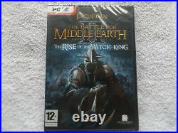 Lotr Battle For Middle Earth II 2 Rise Of The Witch-king Pc Sealed Expansion Pk