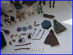 Lotr Lord of the rings Toy vault middle earth vintage lot 1998