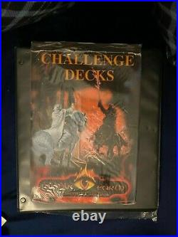 MECCG Challenge Deck Box Starter Decks SEALED/NEW Middle Earth METW Lidless Eye