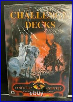 MECCG Challenge Decks Box Middle Earth CCG SATM Lord of the Rings Tolkien