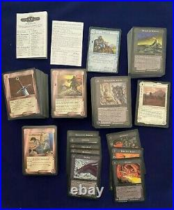 MECCG Middle-Earth CCG The Dragons Complete Set Lord of the Rings LOTR