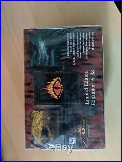MECCG Middle Earth CCG The Dragons Limited Edition Booster Box Sealed New