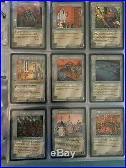 MECCG Middle Earth CCG The White Hand Complete Set 122 Cards Mint