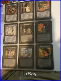 MECCG Middle-Earth CCG The White Hand Complete Set 122 Cards Near Mint