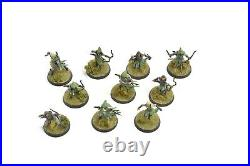 MIDDLE-EARTH 10 Mirkwood Rangers WELL PAINTED #1 THE HOBBIT Games Workshop