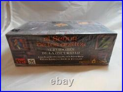 MIDDLE EARTH CCG, DARK MINIONS SEALED BOOSTER BOX OF 36 PACKS (Spanish language)