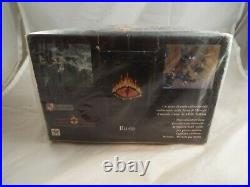 MIDDLE EARTH CCG, THE WIZARDS LIMITED SEALED BOOSTER BOX OF 36 PACKS (Italian)