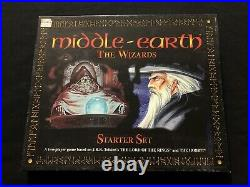 MIDDLE EARTH The Wizards Starter Set TWO PLAYER GAME LORD OF THE RINGS