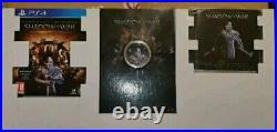 MIDDLE EARTH shadow of war MITHRIL COLLECTOR Gold EDITION PS4 Balrog statue