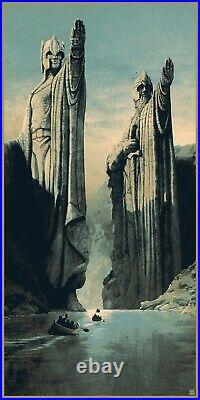 Matt Ferguson Lord of the Rings Middle-Earth Trilogy Art Print Poster Star Wars