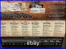 Middle-Earth 6-Film Limited Collector Edition The Hobbit LOTR BluRay+DVD+Digital
