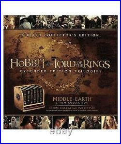 Middle-Earth 6-Film Limited Collector's Edition LOTR (Blu-ray + DVD)