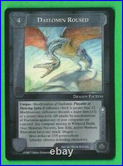 Middle-Earth CCG MECCG Daelomin Roused R1 Against The Shadow LOTR Rare Card NM