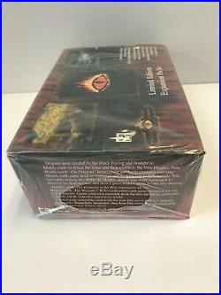 Middle Earth CCG (MECCG) The Dragons Limited Booster Box (Factory Sealed)