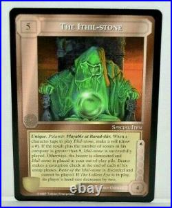 Middle-Earth CCG MECCG The Ithil-Stone Against The Shadow ATS LOTR R1 Rare Card