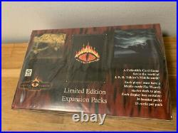 Middle Earth CCG The Dragons Booster Display Box Limited Edition TCG LOTR