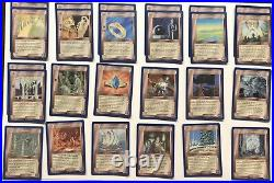 Middle Earth CCG Wizards Unlimited blue Border Lot 101 Rares 120+ Total