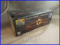 Middle Earth Ccg, French The Wizards Limited Sealed Booster Box Of 36 Packs