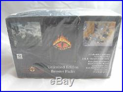 Middle Earth Ccg, Unlimited Premiere Sealed Booster Box Of 36 Packs
