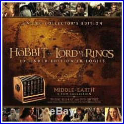 Middle-Earth Limited Collectors Edition Blu-ray Box Set Lord of the Rings Hobbit