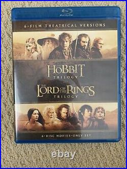 Middle-Earth Limited Collectors Edition Hobbit Lord of the Rings Blu-ray Plus