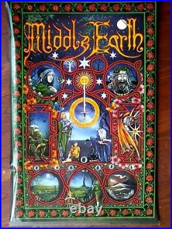Middle Earth Lord Of The Rings Hobbit Pracownik Poster Vintage Original, Nm-mint