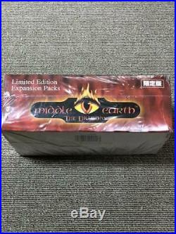 Middle Earth MECCG Japanese The DRAGONS Limited Edition sealed Booster Box