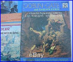 Middle Earth Merp Lot Ardor Angmar Hillmen Trollshaws Goblin-Gate Eagle's Eyrie