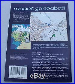 Middle Earth Mount Gundabad MERP LOTR Roleplaying Campaign Module #3110 with Map